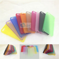 0.3mm Ultra Thin Light Matte Cell Phone Cover Case Skin For iPhone 5 5S 5C 4 4S