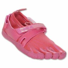New! Fila Girl's Skele-Toes Athletic/Water Shoes in Cherry Bomb/Candy Pink C25