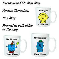 Personalised Mr Man Mug (Various Characters)