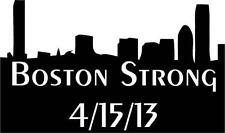 "Boston Strong Vinyl Decal / Memorial Marathon Sticker 6""x4"""