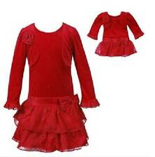 NWT Dollie & Me 10 12 Holiday Dress Outfit Fits American Girl Doll