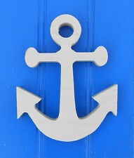"""6"""" Unpainted Wooden various PIRATE NAUTICAL Shapes Cut Outs Wall  Decor Crafts"""