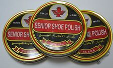 Shoe Boot Polish Shine Leather Paste Protector Can!