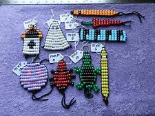 Teresa's Crafts: Key FOBs and Beaded Wall Hangings, Hand Crafted By Teresa