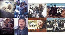 "Lord of the Rings - Various 10 x 8"" Signed PP Autograph"