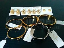 NEW Kate Spade JEWELERY Studs Bracelets Necklaces Pendants Gold Silver VARIETY