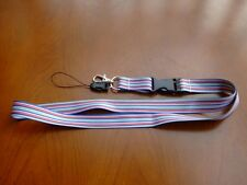 ID holder straps neck lanyards for whistle Camera Mobile Key ring cell phone Mp3