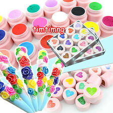 3D UV Sculpture Gel Modelling Colour Nail Art Tips Creative Manicure Decor 8g