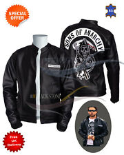 Sons of Anarchy Leather jacket motorbike jacket motorcycle club jacket offer
