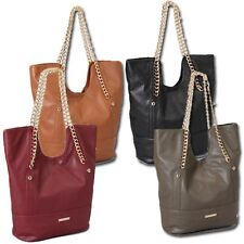 Rampage Raquel Hobo with Chain Handle Handbag- Available in 4 Colors