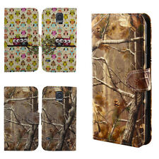 Slim Wallet Flip Cell Phone Case Cover for Samsung Galaxy S5