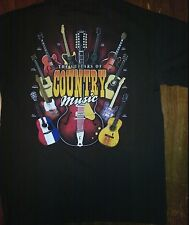 New THE GUITARS OF COUNTRY MUSIC  LICENSED  BAND  T-Shirt  CASH PAISLEY GILL
