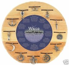Wicca Trait Necklaces, Twelve Variations to Choose From, Pewter, Made In USA