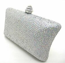 NEW Patty Shimmering Rhombus Women Party Clutch Evening Shoulder Bag Wedding
