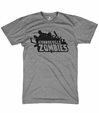 Monroeville Zombies tshirt graphic video game shirts walking dead shirts
