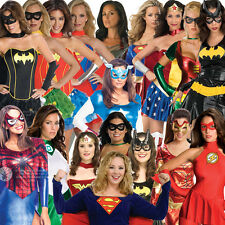 Adult Ladies Superhero New Fancy Dress Costume Superheroes Licensed Movie Marvel