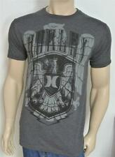 Hurley One & Only Eagle Crest Tee Mens Premium Fit Charcoal Gray Shirt NWT