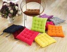 NEW Home Office Square Cotton Seat Cushion Buttocks Chair Cushion Pad 8 colorsWS