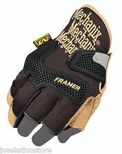 Mechanix Authentic CG Utility Framer Glove Partial Finger-less NEW! FAST SHIP!