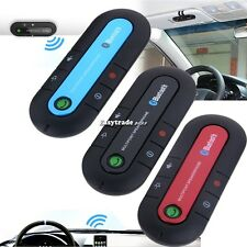 2014 Stereo Hands-Free Car Kit Dual Phone Speaker for Cell Phones Blutooth V3.0