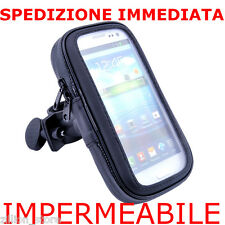 Supporto Bici Moto Bicicletta Bike Impermeabile waterproof x Samsung Galaxy S
