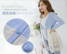 2014 new fashion summer lace cotton Sweater bottoming shirt for pregnant women