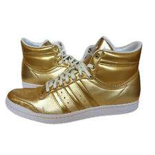Adidas Top Ten Hi Sleek W Shoes Trainers Size UK 6.5-9.5 Gold New