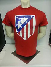 Atletico de Madrid Campeon 2014 Tee Shirt Spain Los Colchoneros football shirt