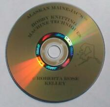 Studio/Singer/Silver Reed Knitting Machine Techniques on DVD or Blu-Ray disks