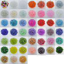 200 pcs 4mm Czech Glass Seed Spacer beads Jewelry Making DIY Pick 43Color -1 Z24