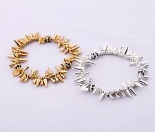 Fashion New Women Stella Gold/Silver Rrenegard Cluster Statement Bracelets DOt