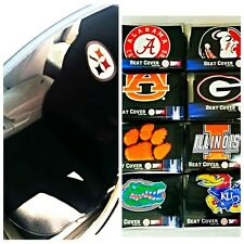 NCAA College LIcensed Auto Car Seat embroidered in Team Logo Cover by Northwest