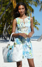 NEW Lilly Pulitzer Janice Shift embroidery cotton Dress Blue 00246810 $188