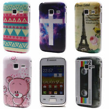 Retro Tape Cubs Tower Star Hard Back Cover Case for Samsung Galaxy Y Duos S6102