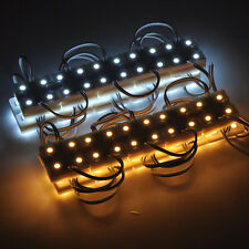 20PCS 5050 SMD Warm white/Cool white Module 4LED Light Waterproof Lamp 12V DC