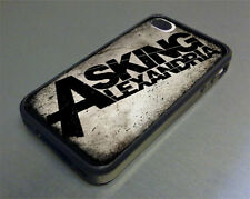 Asking Alexandria Rubber Cover Case fits iPhone 4/4s 5/5s Galaxy S3 S4 S5