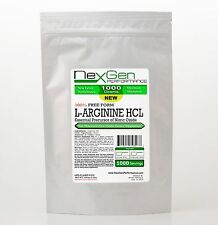 1000g 2.2lb 100% L-ARGININE POWDER PHARMACEUTICAL KOSHER Muscle Cardio Sex & NO2
