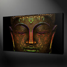 BRONZE BUDDHA CANVAS WALL ART PICTURES PRINTS FREE FAST UK DELIVERY