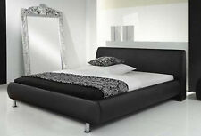 Luxurious and Sophisticated New Faux Leather Bed With Stunning Head Board