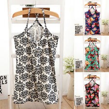Hot New Women Lady Fashion Sleeveless Floral Peony Printed Vest Top Tank Shirt