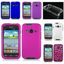For AT&T Samsung Galaxy Rugby Pro i547 Colorful Design Hard Case Cover Accessory