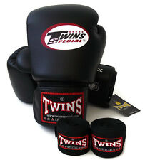 Twins Special Muay Thai BGVL3 Black Training Sparring MMA K1 Kick Boxing  gloves