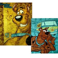 "Licensed Scooby Doo 60"" x 80"" Royal Plush Mink Raschel Blanket -in 2 Styles"
