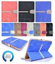 luxury buckle 360 ° Rotating TAN Smart suede Leather Case Cover for apple ipad