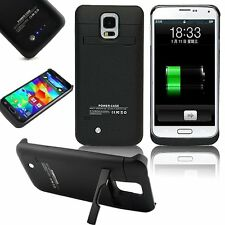 3800mAh External Battery Backup Charger Case Power Bank for Samsung Galaxy S5 US