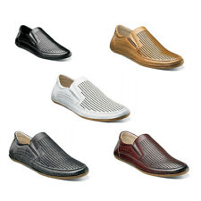 Stacy Adams NORTHSHORE Summer Shoes Moc Toe Slip On All Colors and Sizes 7.5-13