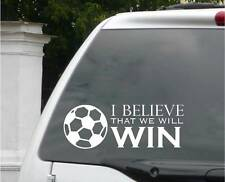 """I Believe that We Will Win 