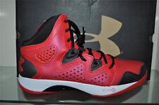 Under Armour Micro G Torch 2 Mens Basketball Shoes 1238926-600 Red/Black/White