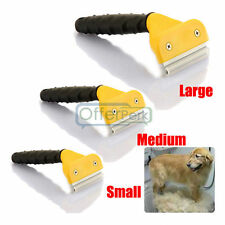 Household Pet Cat Dog Grab Hair Fur Shedding Trimmer Grooming Rake Comb Brush
