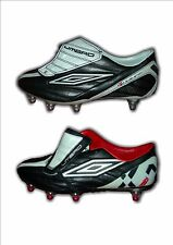 Boys  Leather Football Boots Lace ProX Boot Umbro  Sizes 4 and 4.5  MRP £50